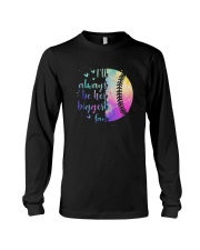 Softball I'll Always Be Her Biggest Fan Shirt Long Sleeve Tee thumbnail