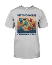 Vintage Hitting Holes Crushing Souls Shirt Classic T-Shirt tile