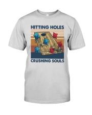 Vintage Hitting Holes Crushing Souls Shirt Premium Fit Mens Tee thumbnail