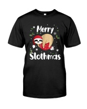Christmas Merry Slothmas Shirt Premium Fit Mens Tee thumbnail