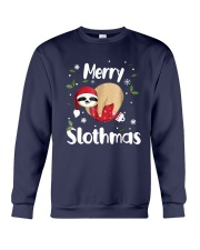 Christmas Merry Slothmas Shirt Crewneck Sweatshirt tile