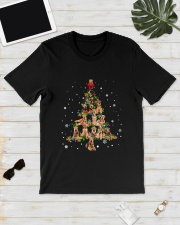 Airedale Terrier Christmas Tree Shirt Classic T-Shirt lifestyle-mens-crewneck-front-17