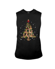 Airedale Terrier Christmas Tree Shirt Sleeveless Tee thumbnail