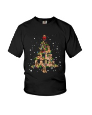 Airedale Terrier Christmas Tree Shirt Youth T-Shirt thumbnail