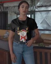 Bichon Frise Gorgeous Reindeer Shirt Classic T-Shirt apparel-classic-tshirt-lifestyle-05