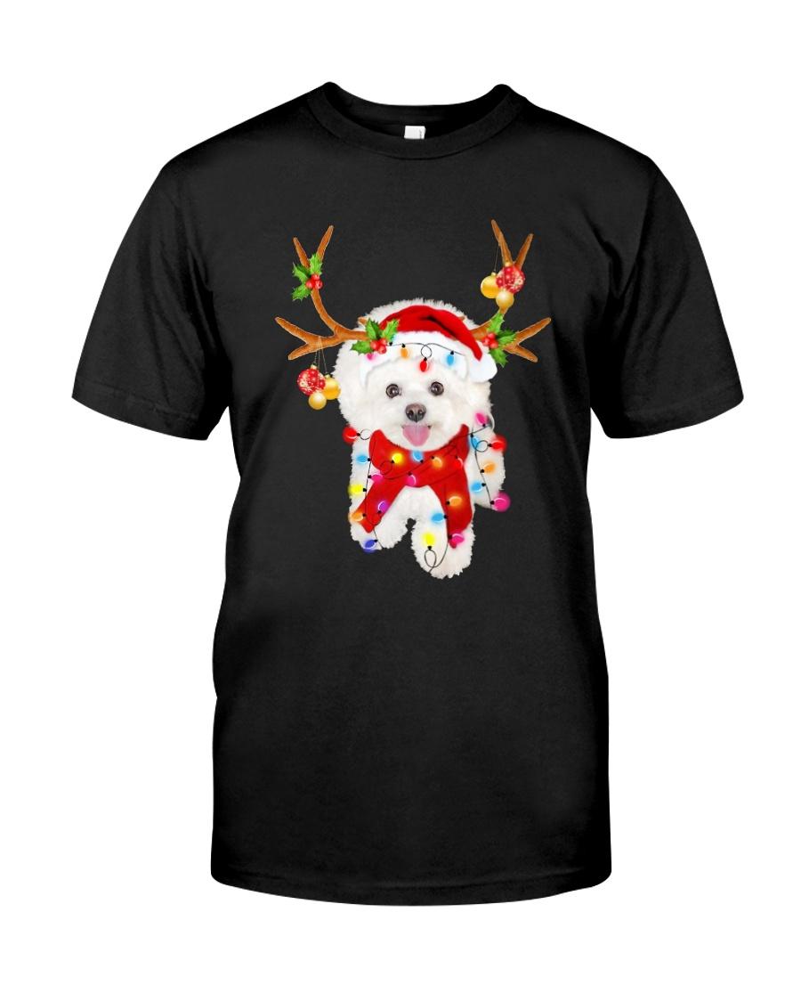 Bichon Frise Gorgeous Reindeer Shirt Classic T-Shirt