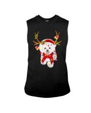 Bichon Frise Gorgeous Reindeer Shirt Sleeveless Tee thumbnail