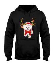 Bichon Frise Gorgeous Reindeer Shirt Hooded Sweatshirt thumbnail