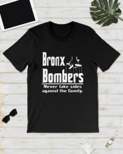Bronx Bombers Never Take Sides Against Shirt Classic T-Shirt lifestyle-mens-crewneck-front-17
