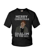 Merry Christmas Shalom To You All Shirt Youth T-Shirt thumbnail
