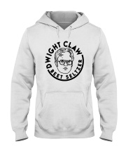 Dwight Claw Beet Seltzer Shirt Hooded Sweatshirt tile