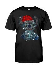 Stitch Diamond Christmas Shirt Classic T-Shirt front