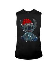 Stitch Diamond Christmas Shirt Sleeveless Tee thumbnail