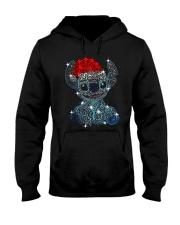Stitch Diamond Christmas Shirt Hooded Sweatshirt thumbnail