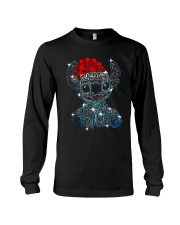 Stitch Diamond Christmas Shirt Long Sleeve Tee thumbnail