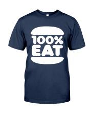 Face Jam 100 Percent Eat Shirt Classic T-Shirt tile