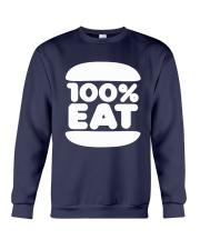 Face Jam 100 Percent Eat Shirt Crewneck Sweatshirt thumbnail