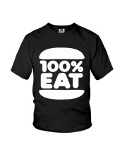 Face Jam 100 Percent Eat Shirt Youth T-Shirt thumbnail