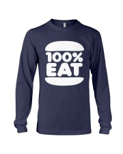 Face Jam 100 Percent Eat Shirt Long Sleeve Tee thumbnail