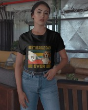 Vintage Best Beagle Dad Ever Shirt Classic T-Shirt apparel-classic-tshirt-lifestyle-05
