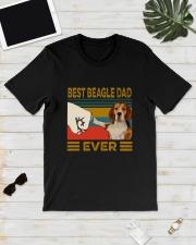 Vintage Best Beagle Dad Ever Shirt Classic T-Shirt lifestyle-mens-crewneck-front-17