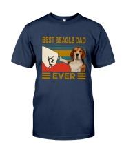 Vintage Best Beagle Dad Ever Shirt Classic T-Shirt tile