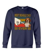 Vintage Best Beagle Dad Ever Shirt Crewneck Sweatshirt thumbnail