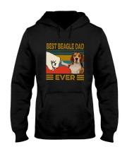 Vintage Best Beagle Dad Ever Shirt Hooded Sweatshirt thumbnail