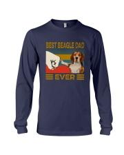 Vintage Best Beagle Dad Ever Shirt Long Sleeve Tee thumbnail