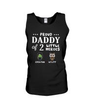 Proud Daddy Of 2 Little Heroes Adelynn Wyatt Shirt Unisex Tank thumbnail