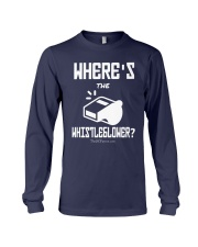 Matt Couch Where's The Whistleblower Shirt Long Sleeve Tee tile