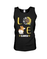 Sunflower Love Corgi Shirt Unisex Tank thumbnail