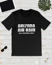Arizona Air Raid Now Dropping Nuks Shirt Classic T-Shirt lifestyle-mens-crewneck-front-17