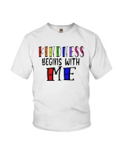 Kindness Begins With Me Shirt Youth T-Shirt thumbnail