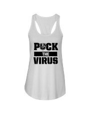 Puck The Virus Shirt Ladies Flowy Tank thumbnail