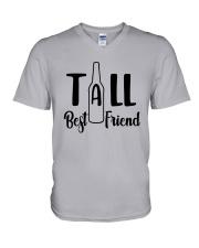 Bottle Tall Best Friend Shirt V-Neck T-Shirt thumbnail