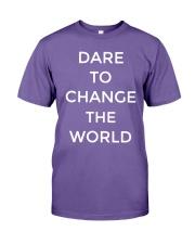 Hugh Jackman Dare To Change The World Shirt Premium Fit Mens Tee thumbnail