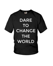 Hugh Jackman Dare To Change The World Shirt Youth T-Shirt thumbnail