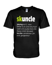 Skunkle Shirt V-Neck T-Shirt thumbnail