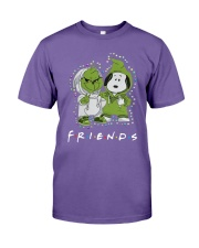 Baby Grinch And Snoopy Friends Shirt Premium Fit Mens Tee thumbnail