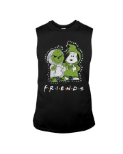 Baby Grinch And Snoopy Friends Shirt Sleeveless Tee thumbnail