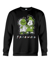Baby Grinch And Snoopy Friends Shirt Crewneck Sweatshirt thumbnail