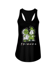 Baby Grinch And Snoopy Friends Shirt Ladies Flowy Tank thumbnail