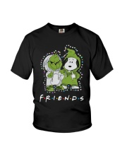 Baby Grinch And Snoopy Friends Shirt Youth T-Shirt thumbnail