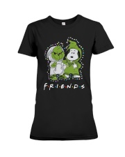 Baby Grinch And Snoopy Friends Shirt Premium Fit Ladies Tee thumbnail