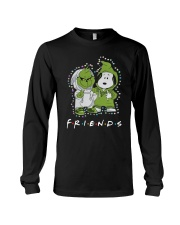 Baby Grinch And Snoopy Friends Shirt Long Sleeve Tee thumbnail