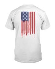 American Flag Gen Z Conservative Shirt Classic T-Shirt back