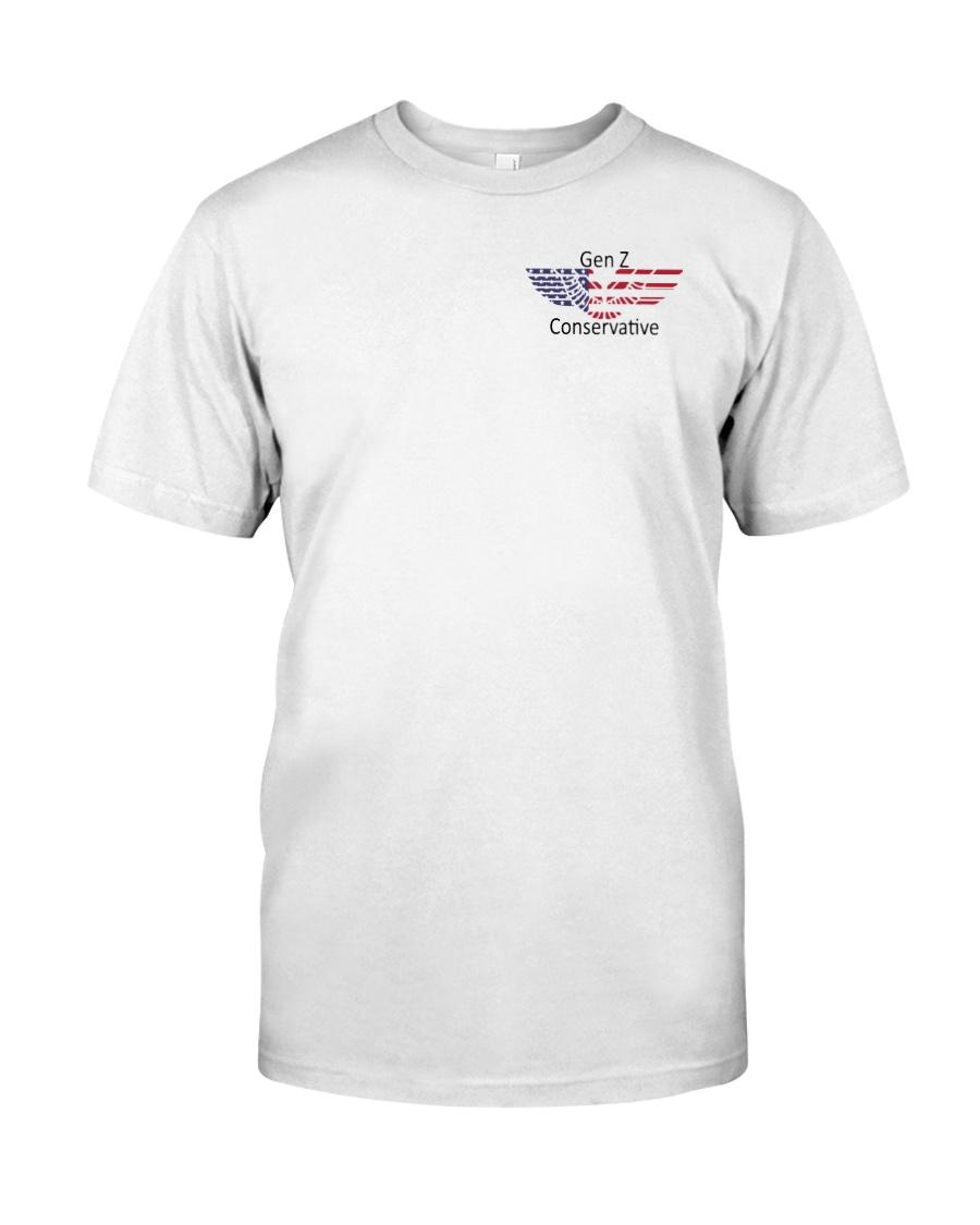 American Flag Gen Z Conservative Shirt Classic T-Shirt