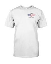 American Flag Gen Z Conservative Shirt Classic T-Shirt front