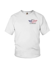 American Flag Gen Z Conservative Shirt Youth T-Shirt thumbnail